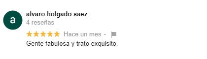 comentario google